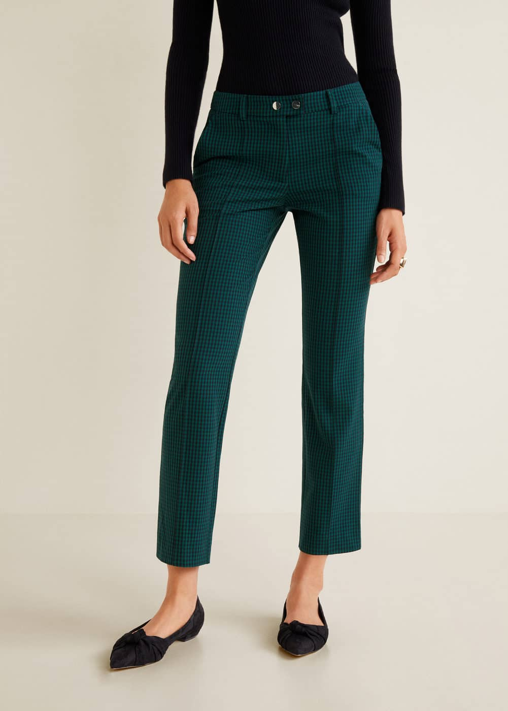 m-harris:pantalon traje crop