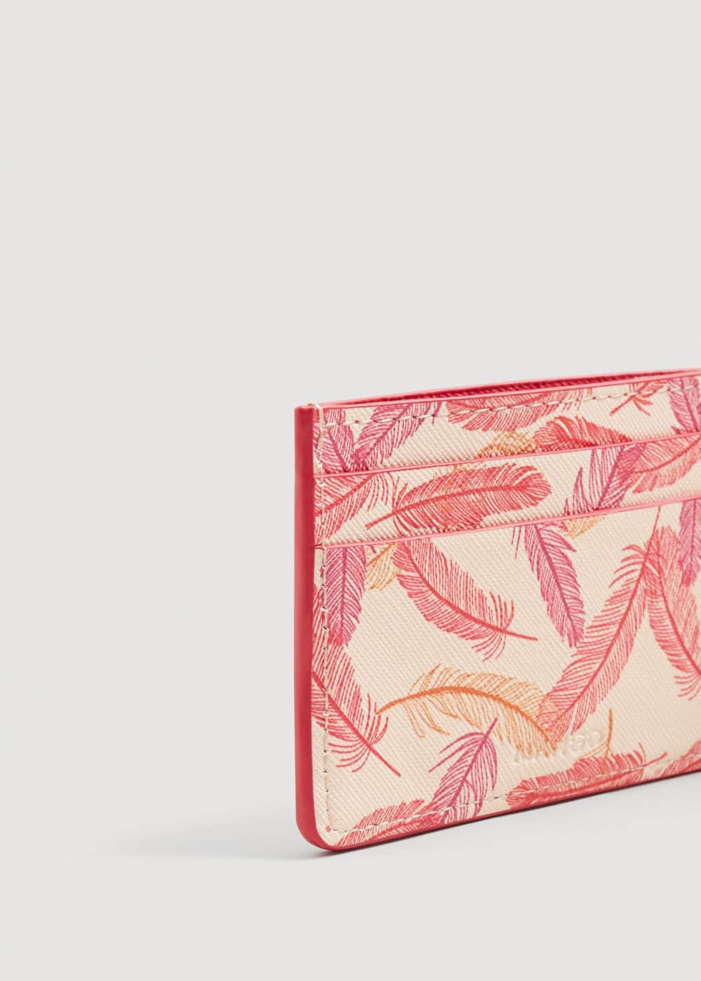 Printed Card Holder by Mango