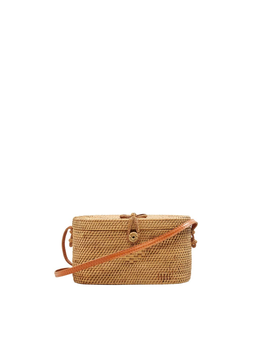 Handmade Bamboo Coffer Bag Women Mango United Kingdom