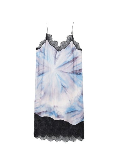 MANGO Tie-dye print dress