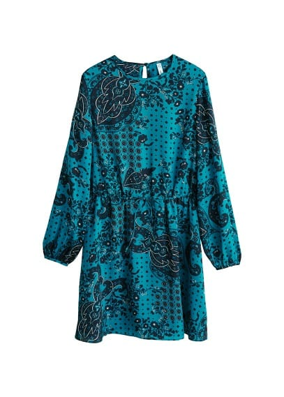 MANGO Paisley print dress