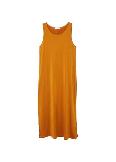 MANGO Flowy shift dress