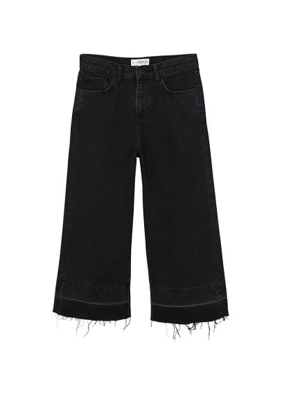 mango - Relaxed jeans culotte