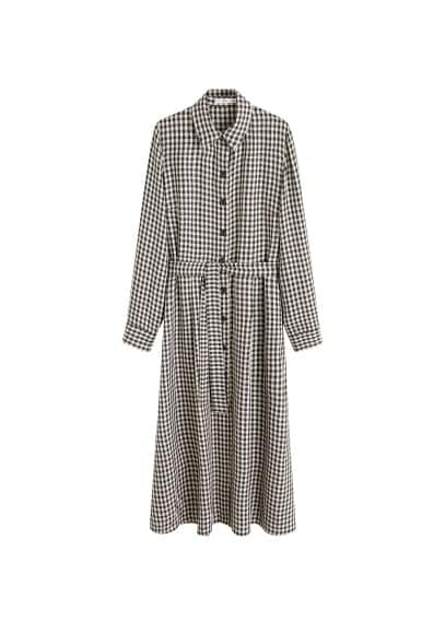 MANGO Vichy check dress