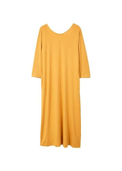 MANGO Basic knit dress