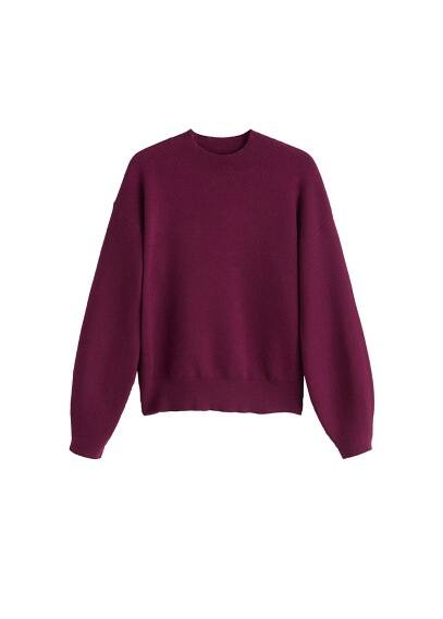 Pull-over col montant