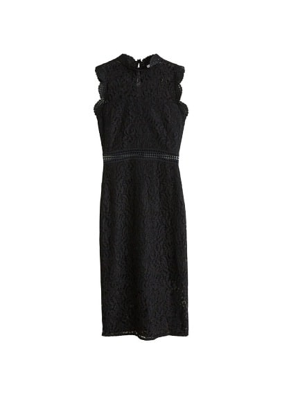 MANGO Guipure dress