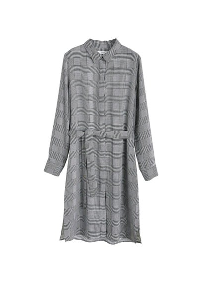 MANGO Bow shirt dress