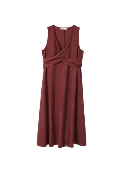 MANGO Decorative strap dress