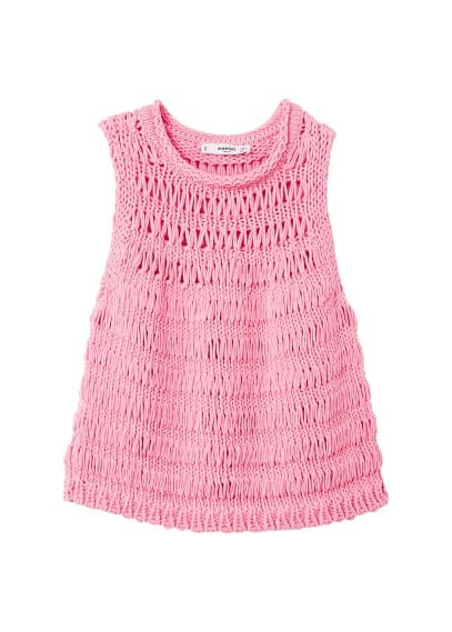 MANGO Knot knitted top