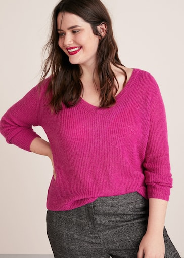 Textured knit sweater - Plus sizes  aea87cf03