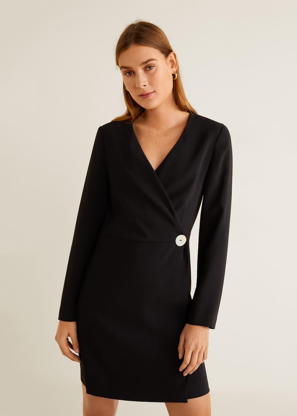 Button wrap dress - Women  OUTLET USA