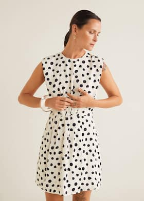 Polka-dot print dress - Medium plane. Choose your size 4969f838957c
