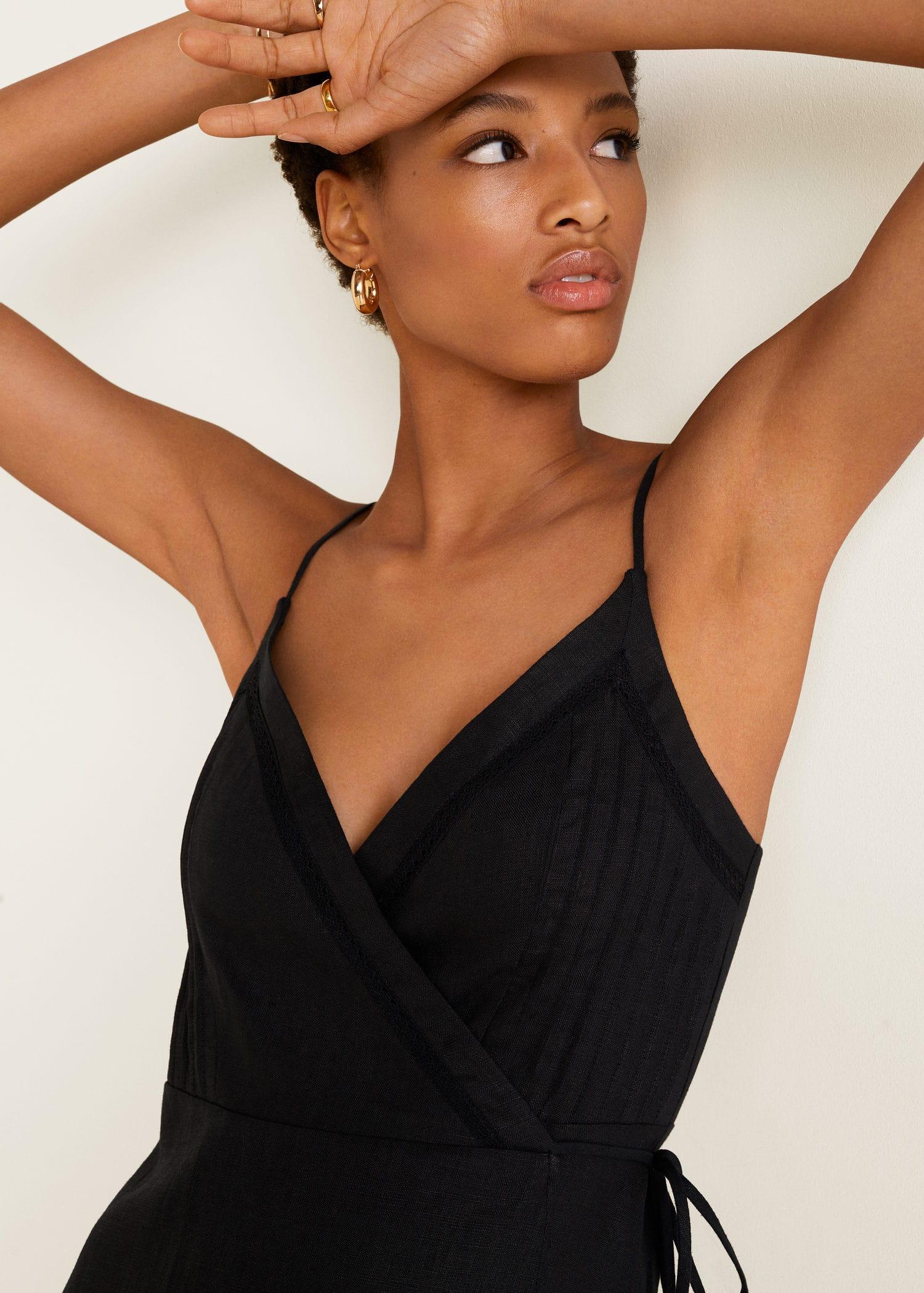afd0450aa98 Modalite - Mango Linen wrap dress