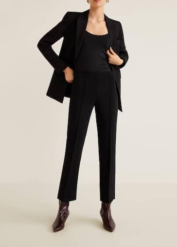 1e8a890a1e Pleated suit pants - Women