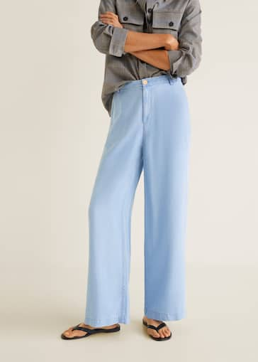 new arrival 861ec 79c08 Soft palazzo trousers