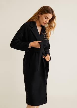 fe0dd74d6fd Belted wool coat - Medium plane