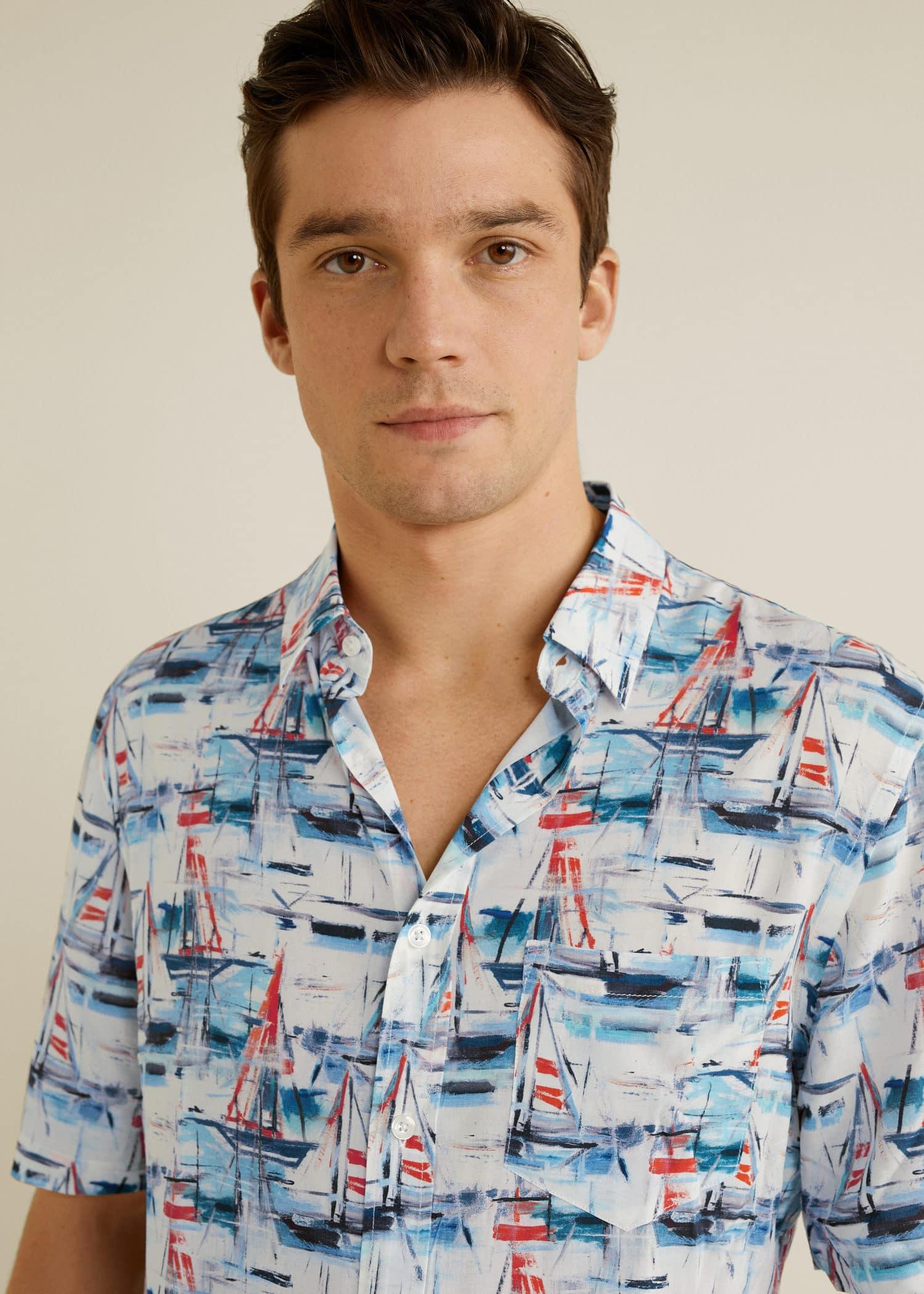 Košile regular-fit s potiskem - Detail zboží 1 80ec2be6b4