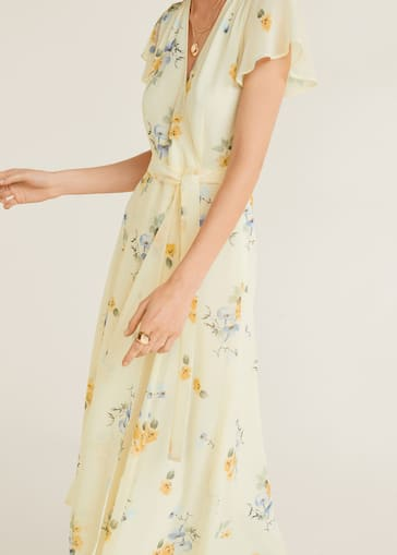 6e2f228fa6a0 Flower print dress - Details of the article 4