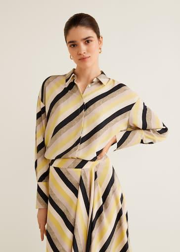 détaillant en ligne 21168 493d2 Multicolor striped shirt