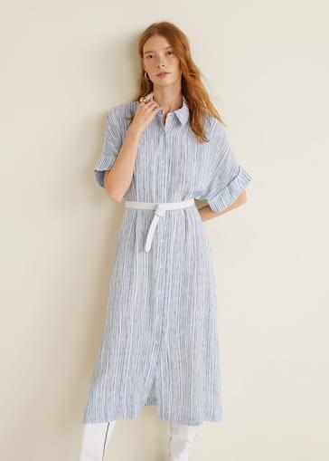 fcf576e4 Stripe mønstret kjole - Halvtotal bildeutsnitt