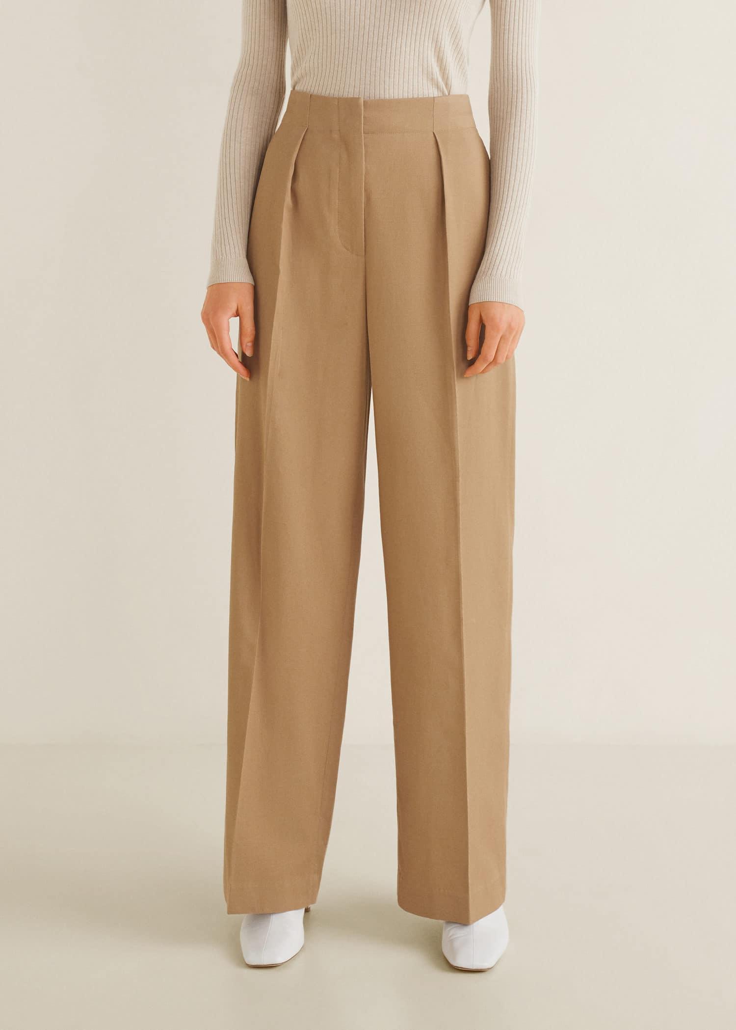 Tissu De La Reunion pantalon tissu soft - femme | mango france (la réunion)