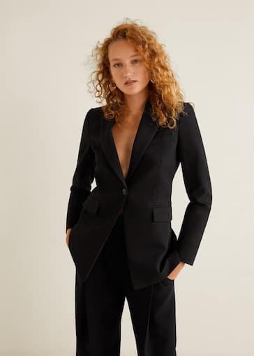 última tecnología los más valorados venta en línea Structured suit blazer - Woman | MANGO Cyprus (Euros)