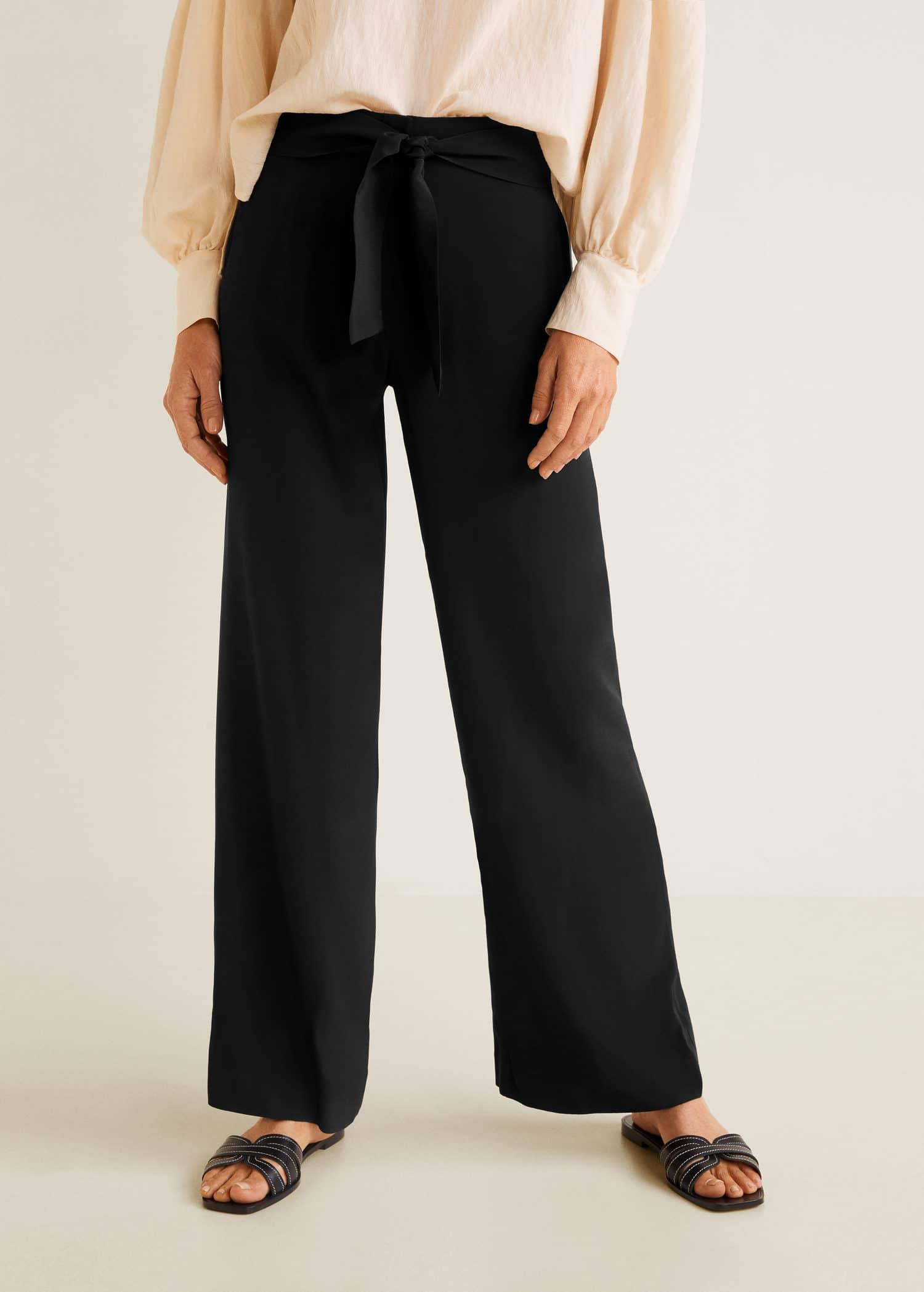 plus près de dernière sélection trouver le prix le plus bas Pantalon droit fluide - Femme | Mango France