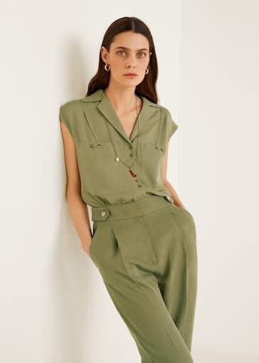 d2777af2da7 Camisas de Mujer 2019   Mango España