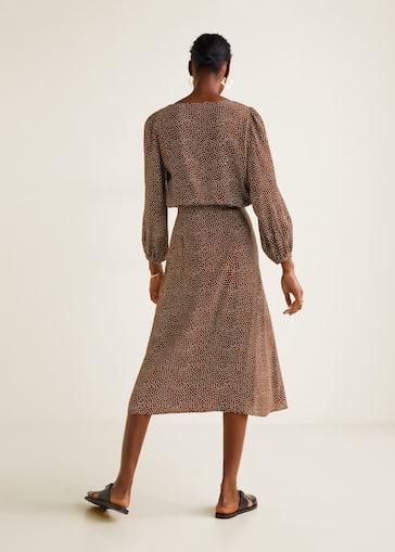 8d349963d44a68 Polka-dot print skirt