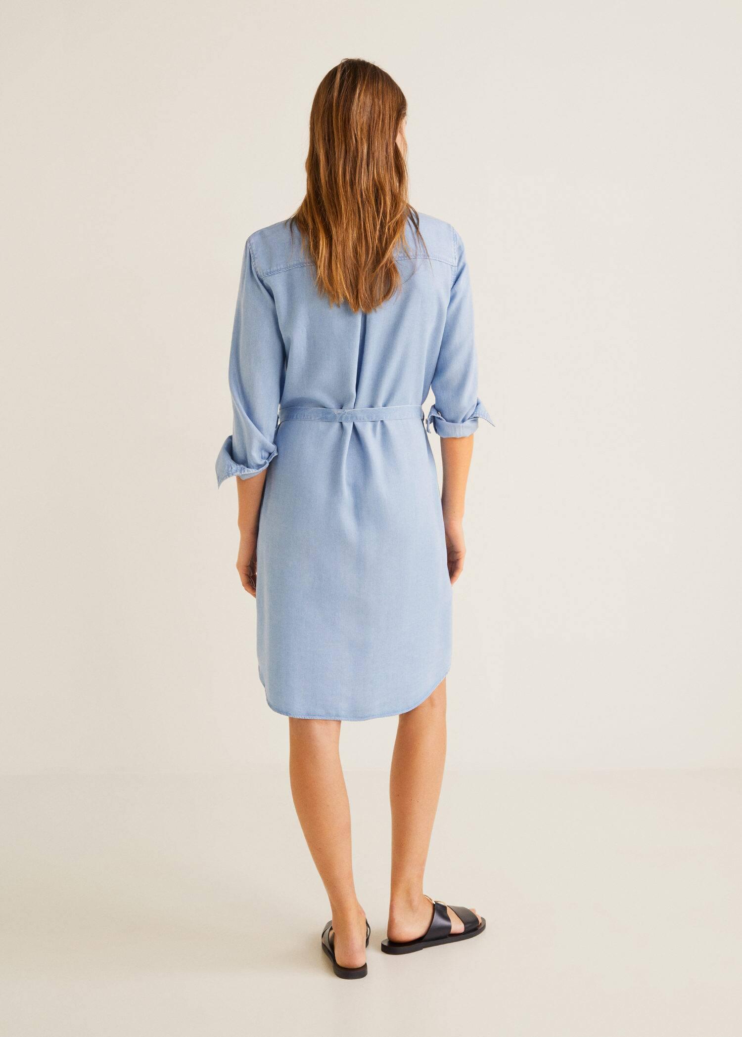 d5ebb09dc0e Robe soft style denim - Verso de l article