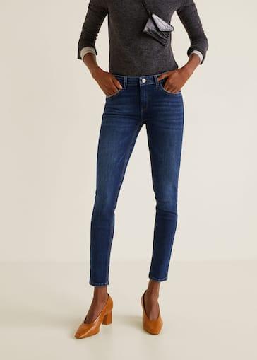 2a8b8c6b2c Jeans skinny push-up Kim - Plano medio