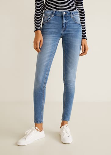 6a72661aa8 Kim skinny push-up jeans - Woman
