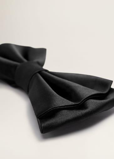 2938c4a54aaf Satin bow tie - Men   Mango Man USA