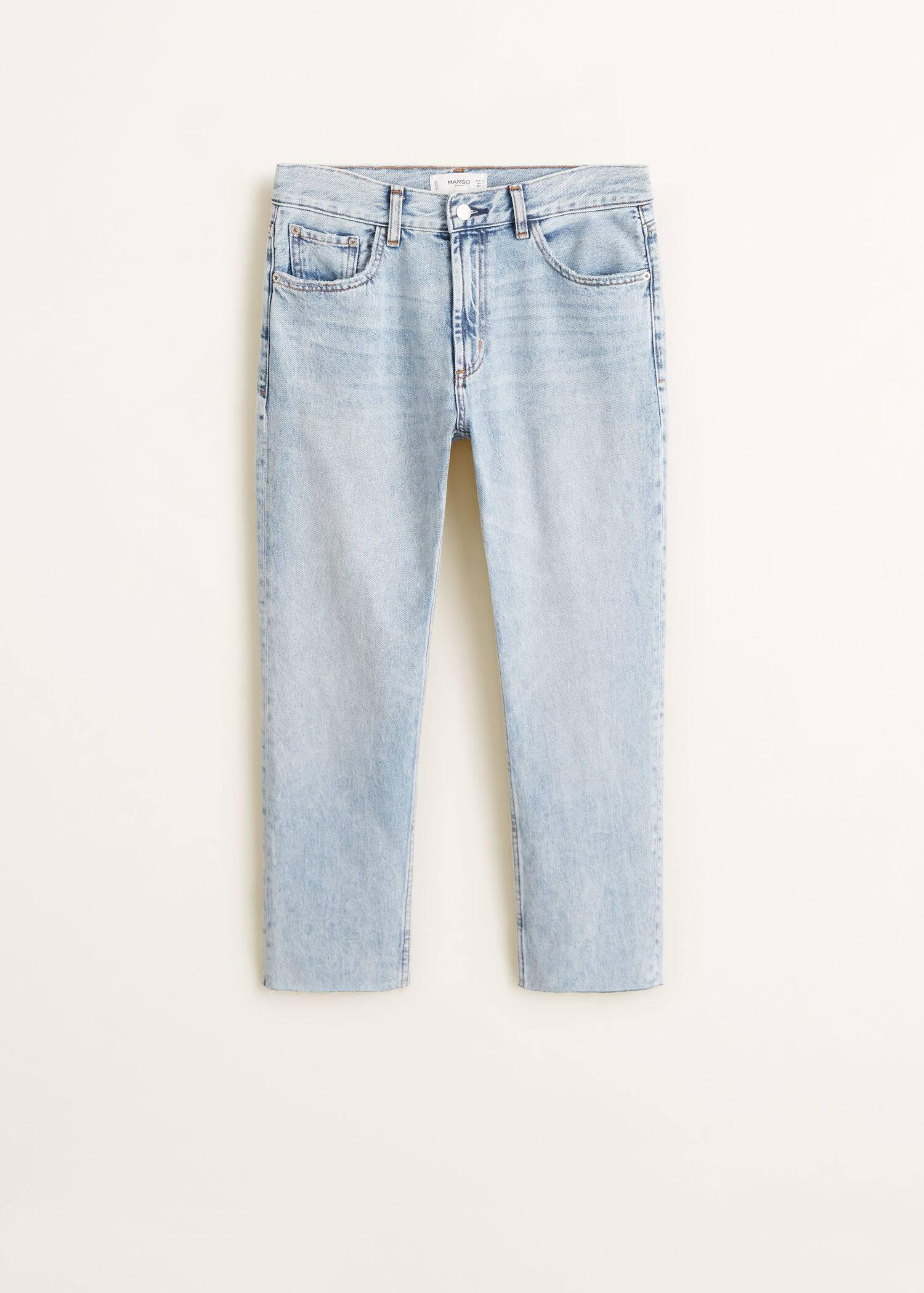 MANGO Jean straight coton organique Sayana 100% organic