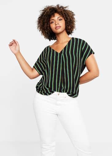 104f264b Camisetas y tops Tallas grandes 2019 | Violeta by Mango España