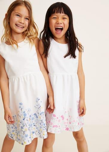 b6a9d4a901 Flowers cotton dress - Medium plane