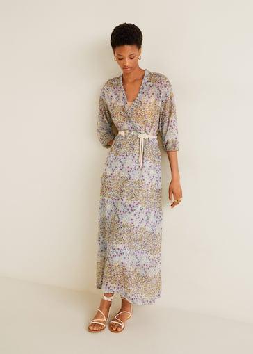 5c33500bb39 Robe à imprimé fleurs - Femme