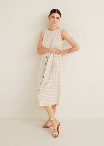 417b772f3b294 Çizgi dokumalı elbise - Ürün detayı 2