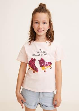 f83defc0cde4f Tişört - Kız çocuk 2019 | Mango Kids Türkiye