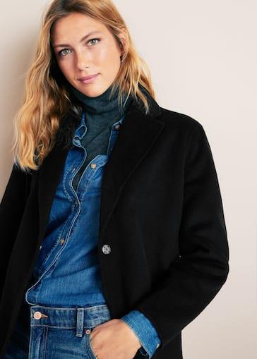 3f58cd62312d Μάλλινο παλτό handmade - Μεσαίο πλάνο
