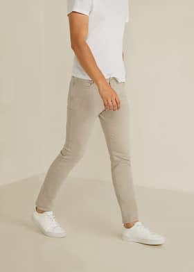 49d8f2a7c6 Jeans Patrick slim-fit beige - Plano medio
