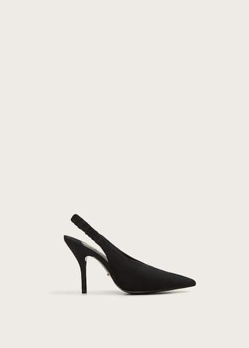896549f69 حذاء جلدي بعلاقة خلفية - المقاسات الكبيرة | Violeta by MANGO الأردن