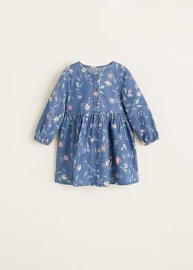 Blommigt tryck klänning - Artikel utan modell 651ff512f8966