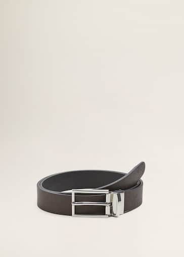 qualità eccellente comprare bene Saldi 2019 Leather reversible belt