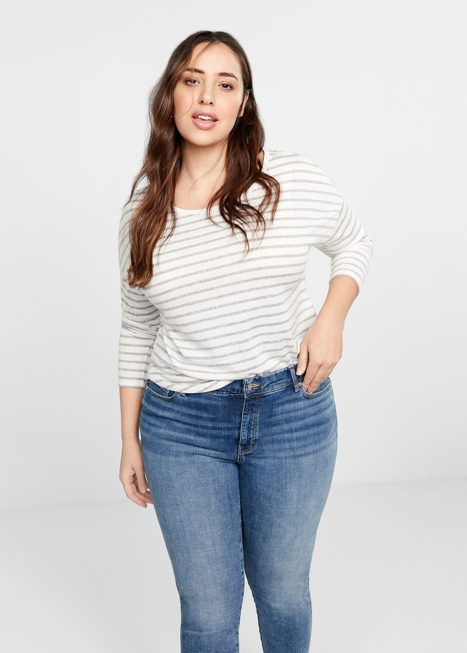 Grandes Mango Jeans Tailles 2019Violeta By France nP0kwO
