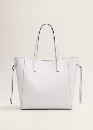 50057a7e32 Τσάντα shopper δέρμα ανάγλυφο - Προϊόν χωρίς μοντέλο
