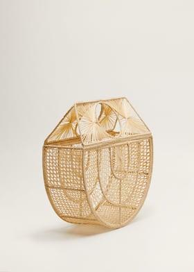 Torebka z rafii handmade
