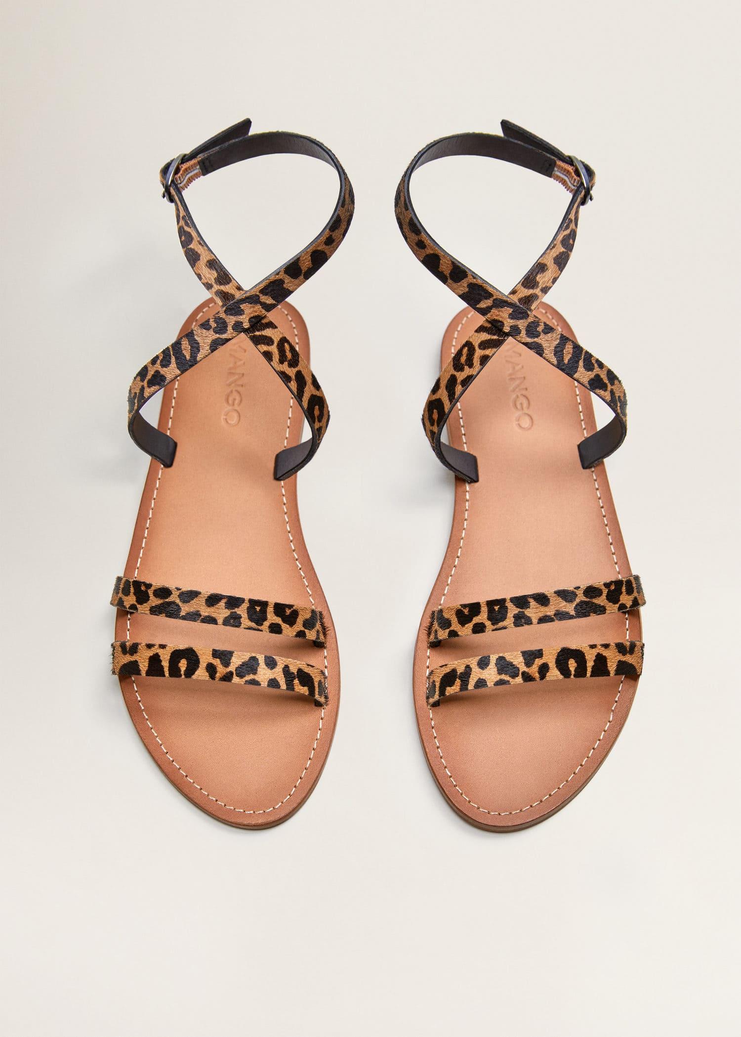 Chaussure Plates Pour 2019Mango Sandales France Femme WrxoBedC