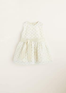 Rosett tylle klänning - Artikel utan modell. Välj storlek. 18-24 månader 2-3  år 450b5ff49e048